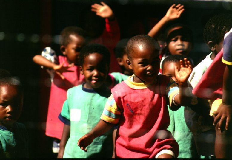 Kinder in Soweto-Johannesburg, Südafrika
