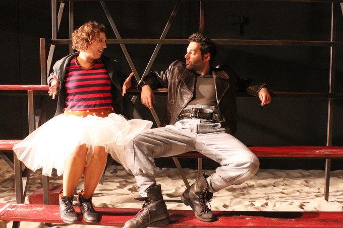 Katharina Pizzera (Gelsomina), Benjamin Plautz (Zampano)