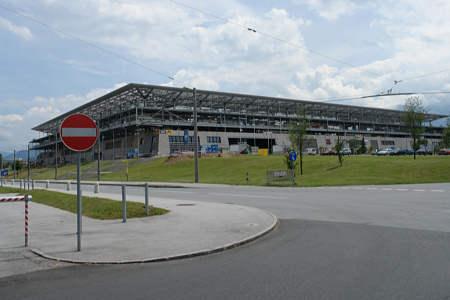 Das EM Stadion in Salzburg
