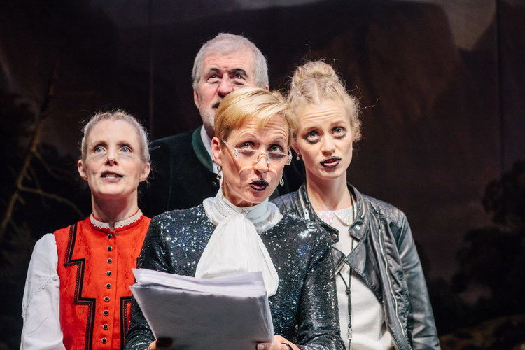 Sinikka Schubert, Harald Fröhlich, Ulrike Arp, Christiane Warnecke