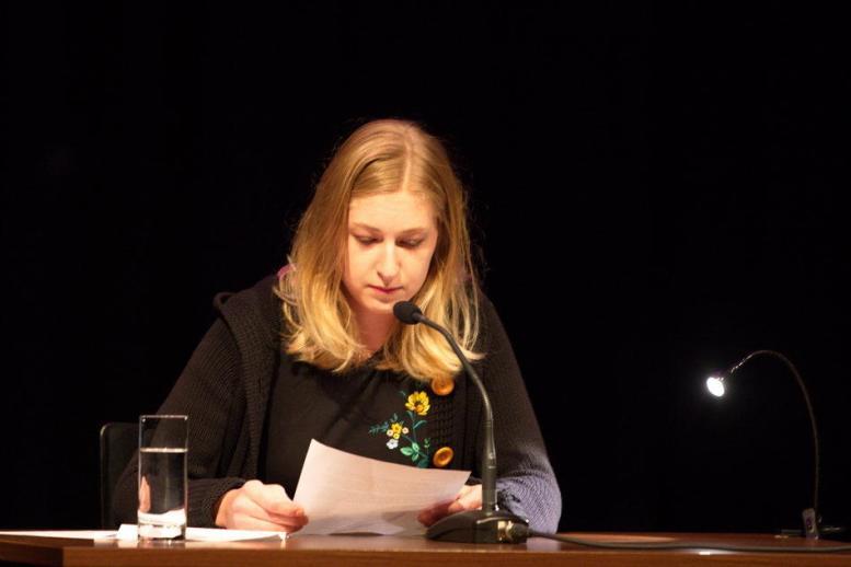 """""""Einscheunen"""" im K.U.L.T. in Hof   LiteraturLobbyLand   Lilly Schaubensteiner"""