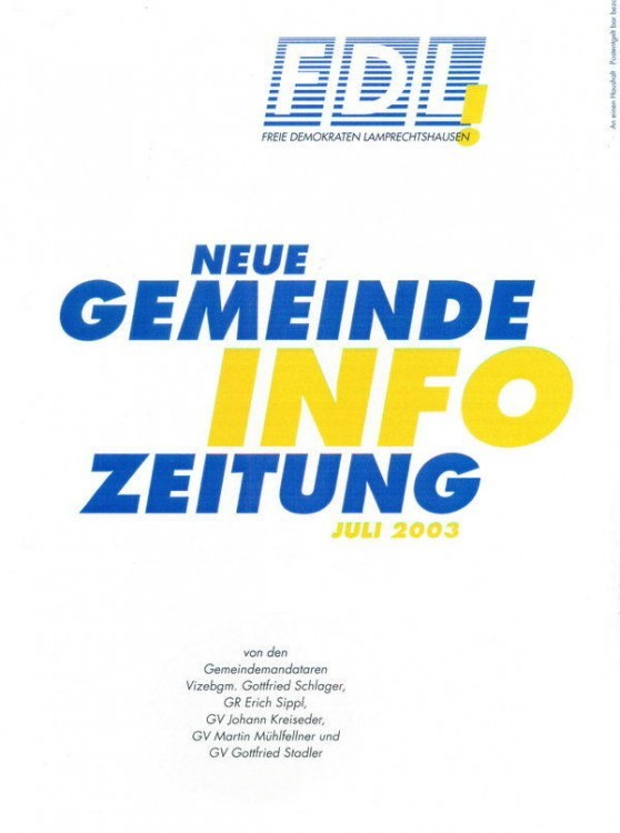 Cover FDL Gemeindeinfo