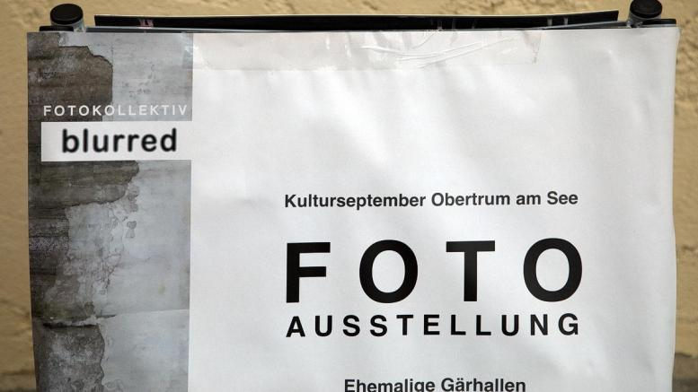 blurred Fotokollektiv in den ehemaligen Gärhallen der Trumer Privatbrauerei