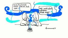 Der blaue Dunst