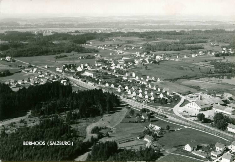 14 Bürmoos Luft Ziegelei 1964 VS