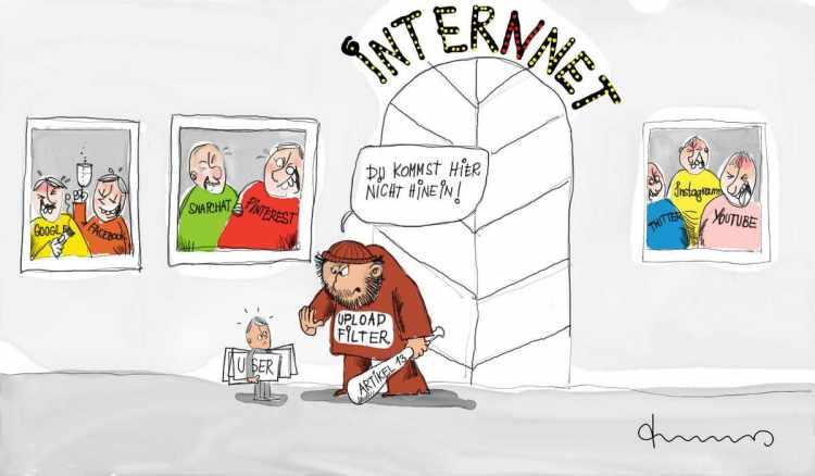 Urheberrecht Internet