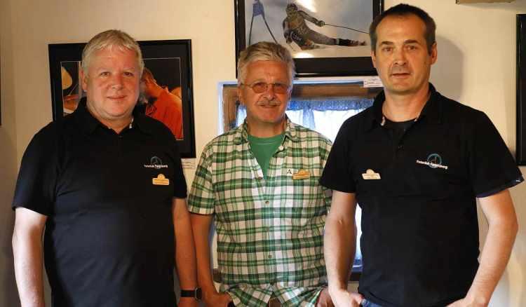 Fotoklub Eggelsberg   von links: Josef Kammerstetter, Harald Eckschlager, Andreas Schachl