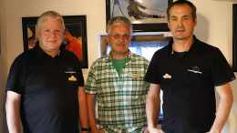 Fotoklub Eggelsberg | von links: Josef Kammerstetter, Harald Eckschlager, Andreas Schachl