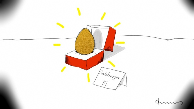 Die Eier der Salzburger