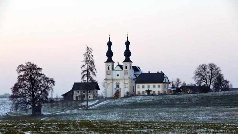 Maria Bühel im Dezember (Winter) | Foto: KTraintinger, Dorfbild