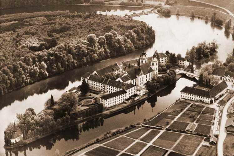 Altes Bild Rheinau Irrenanstalt SE