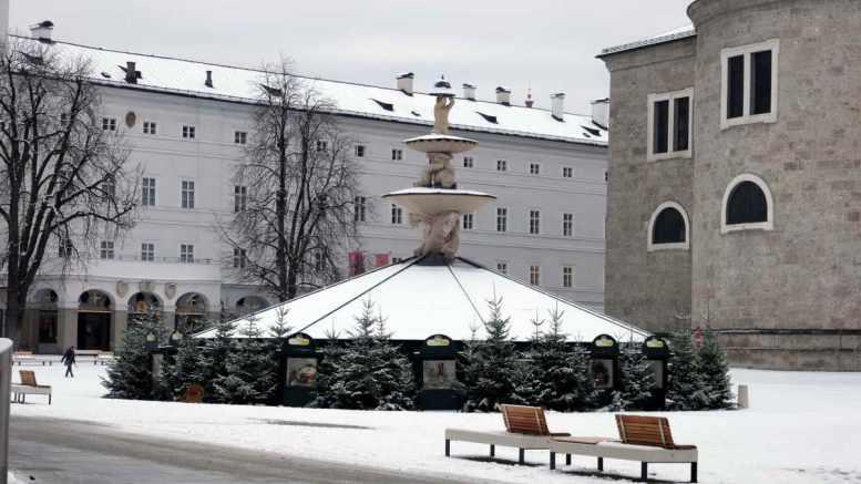 Residenzplatz Salzburg | Fotos: Michaela Essler
