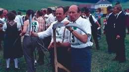 Handmähwettbewerb Plainfeld 1977