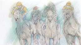 Rennpferde Elfriede Österle