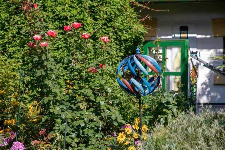Der liebevoll gepflegte Garten
