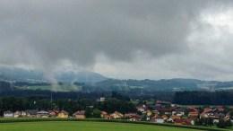 Gewitter über Dorfbeuern