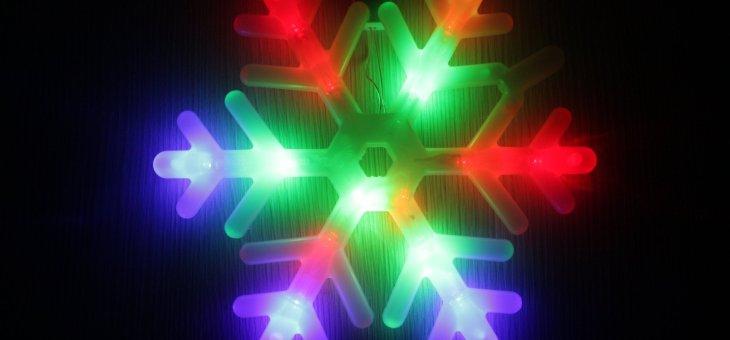 OZDOBY ŚWIĄTECZNE LED