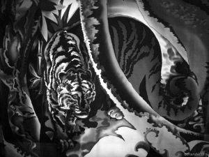 Irina Agalakova. Batik, natural silk.