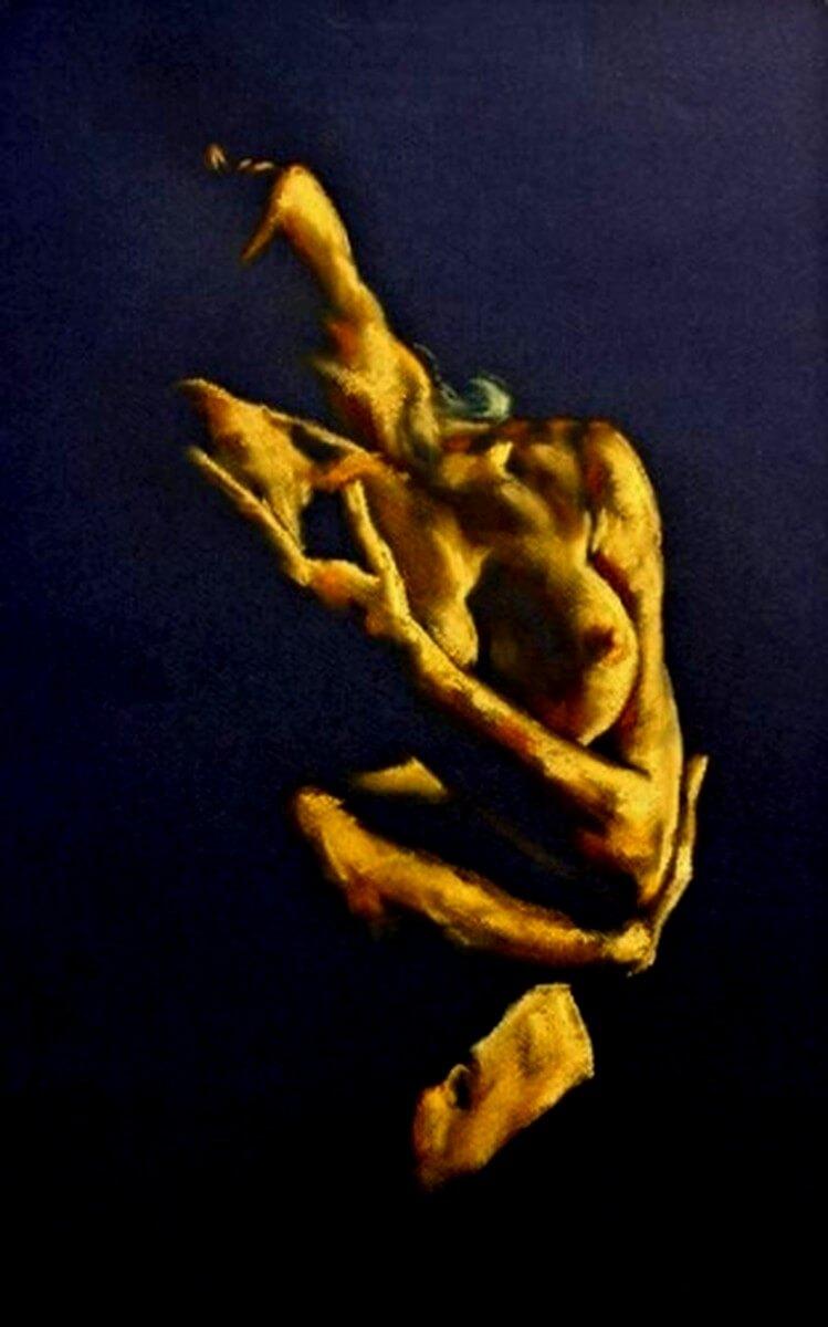 Nud 13 2 tableaux tableaux l 39 huile peintures sur toile tableaux for Film marocain chambre 13 en ligne