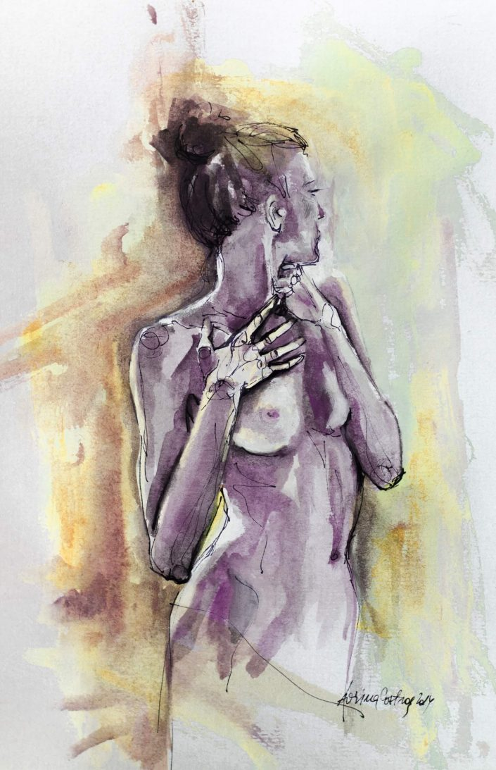 Nude Watercolor