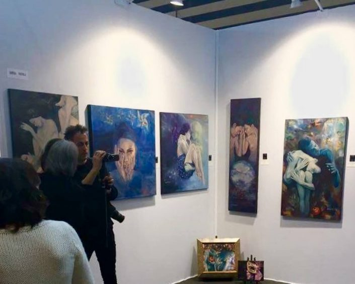 Art3f Lyon Franta - Expozitie de pictura, participare la Salonul international de arta contemporana Art3F