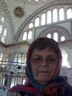 Într-o moschee din Istanbul