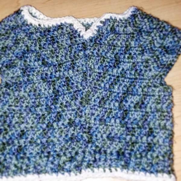 baby blue Bella sweater