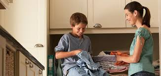 educar hijos que ayudan en casa