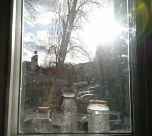 agua solarizada sungazing