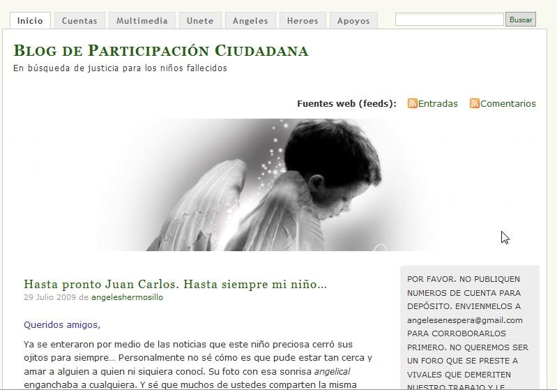 Ángelesenespera blog
