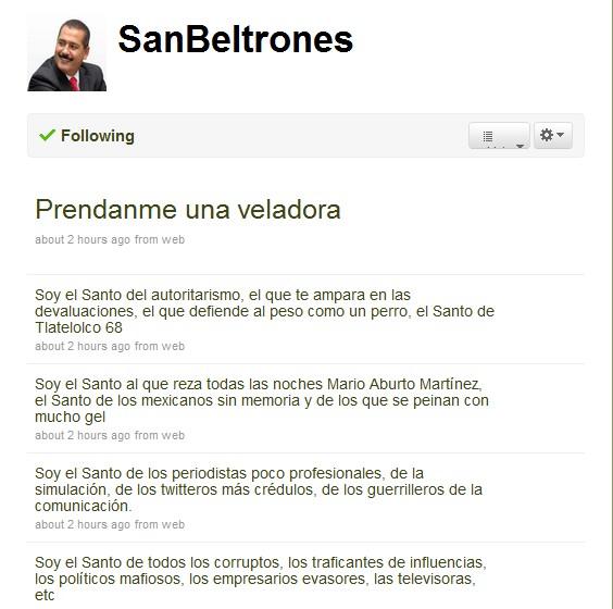 Twitter 20091105 - SanBeltrones 2