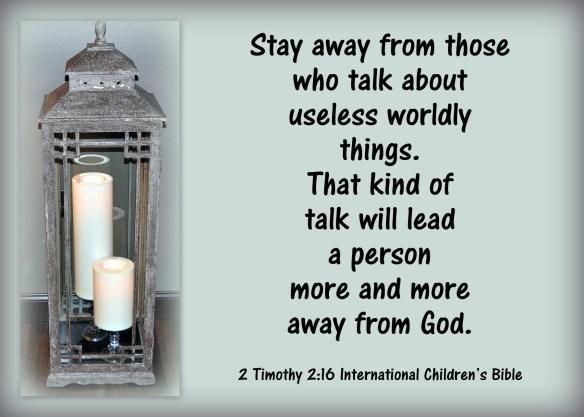 2 Timothy 2-16