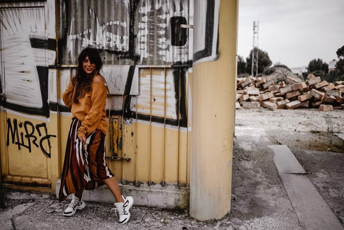 dorisknowsfashion blog mode mix jupe longue sweat
