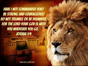 Lion Joshua scripture