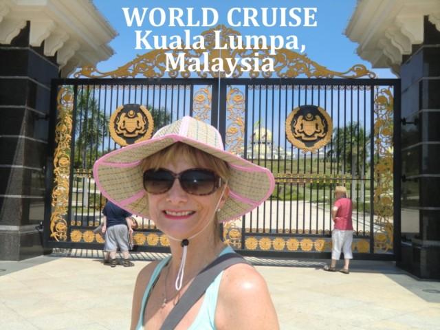 Port Kelang to Kuala Lumpa, Malaysia a world cruise stop, Jean for Doris Visits