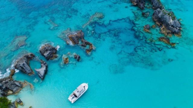Bermuda – all year round climate – drone film