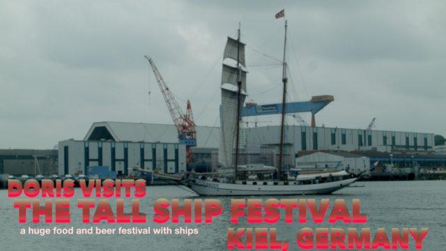 Kieler Woche, BBQ at Tall Ships Festival in Kiel