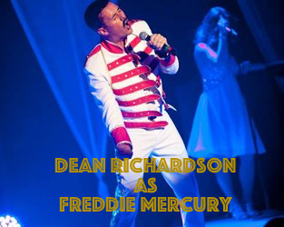 Dean Richardson as Freddie Mercury – the best we have seen anywhere