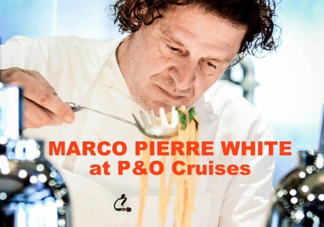 Marco Pierre White's Ocean Grill fine dining on the cruise ship Arcadia