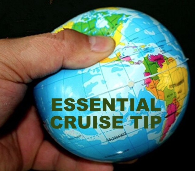 An Ideal Present for a cruiser – a useful toy – the squeezable Globe Ball