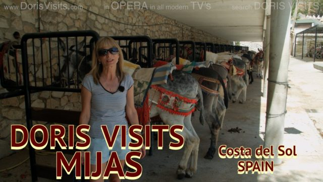 Mijas near Malaga. Our Mountain Village Guide, home of the Donkey taxi