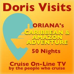 50 days on the Oriana's Caribbean & Amazon Adventure
