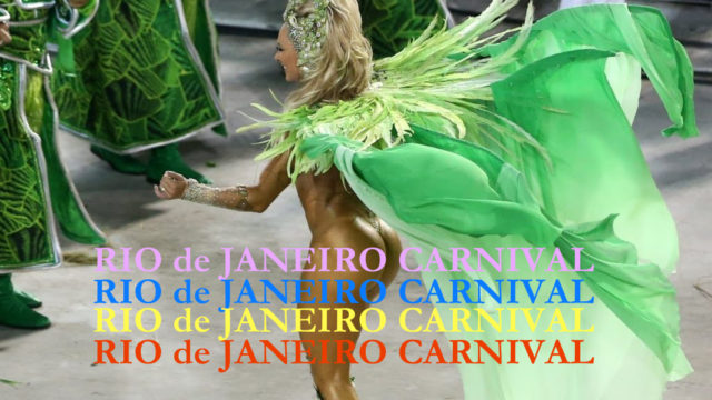 Rio Carnival – the bucket list lifetime party