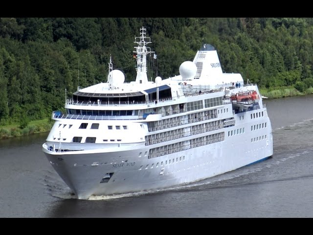 SILVER WIND IN THE KIEL CANAL – DRONE SHOTS