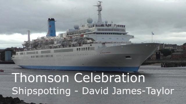 Marella Celebration sailing from Port of Tyne, Newcastle