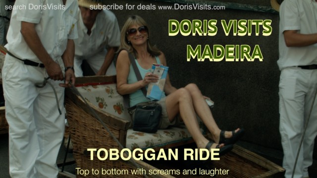 Toboggan or Sled or Sleigh Ride? A ride with no snow in Funchal, Madeira