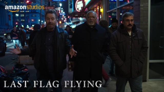 The Last Flag Flying – new film soon to be on board ship