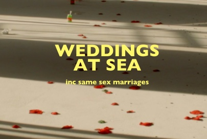 Marriage at sea, But huge disaster for same sex marriage at sea