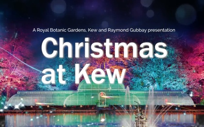 Kew Gardens – a Christmas Experience crafted in lights from Nov 22nd