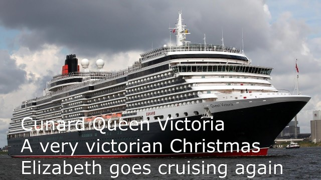 Queen Victoria decked out with holly for Christmas